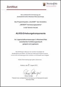 geo8 als alkis-erhebungskomponente f r rheinland-pfalz, Einladung